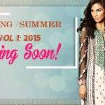 Shaista cloth Spring Summer Vol 1 Season 2015Fashion and Style