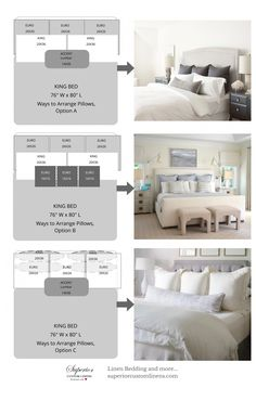 Camas King Size, Home Bedroom, Bedroom Decor, Bedding Decor, Bedroom Ideas, Bedroom Furniture Arrangement, Bedroom Wall Art Above Bed, Artwork Above Bed, Bedding Master Bedroom