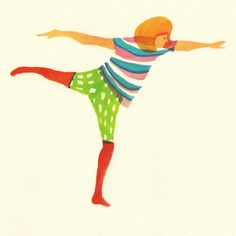Balance  Lovely vibrant illustration work of Hazuki Miyahara.
