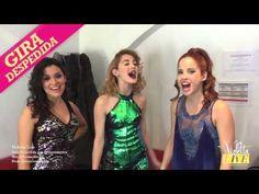 Violetta Live – Backstage. Alba, Mechi y Cande cantan Euforia - YouTube
