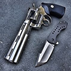 Colt Python .357 MagnumLoading that magazine is a pain! Get your Magazine speedloader today! http://www.amazon.com/shops/raeind