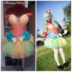 Costume Candy girl (design NoFlutter) de la boutique Minaleecrea sur Etsy