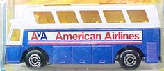 American Airlines Matchbox