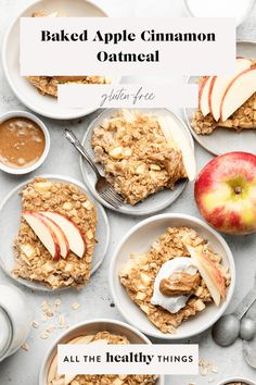 Thiswarmand cozy Apple Cinnamon Baked Oatmeal is made with old-fashioned oats, a touch of maple syrup for sweetness, and plenty of fresh apples. It's the perfect as a filling breakfast or healthy afternoon snack.