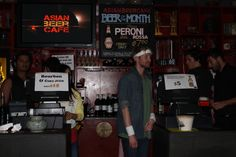 Staff at Asian Beer Cafe