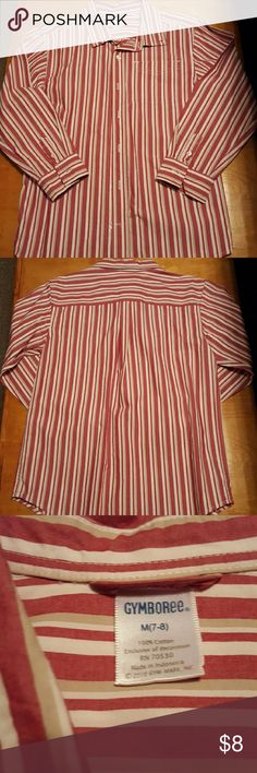 Gymboree long sleeve button down Great condition boys long sleeve button down shirt. No stains. Comes from smoke free and pet free home! Gymboree Shirts & Tops Button Down Shirts
