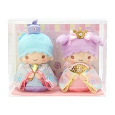 Sanrio Mascot Holder Little Twin Stars Lala Aurora crown Japan import NEW