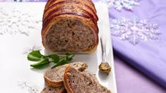 French Country Pate - Ground beef, pork and bacon—not liver—serve as the base for a rich spread with make-ahead convenience.