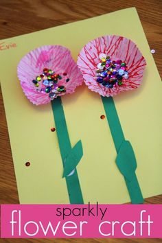 A Glimpse Inside: 18 Fun Spring Crafts for Kids