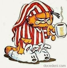 Garfield was Grumpy Cat before it was cool Good Afternoon, Good Morning Good Night, Good Morning Wishes, Good Morning Quotes, Rainy Morning, Gastro Entérite, Wednesday Coffee, Happy Wednesday, Good Morning Animation