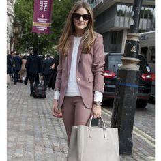 Le tailleur pantalon, look de la Fashion Week printemps été 2014 de Londres