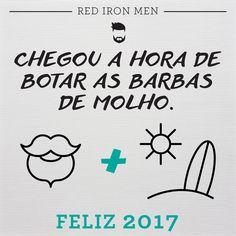 FELIZ ANO NOVO! Para alguns, férias. Para outros, trabalho. Mas o ano que começa é sempre motivo para reflexões. Um momento para colocar as barbas de molho!  Desejamos um ano novo de grandes realizações para todos! #redironmen #haircuts #hair #hairstyle #barbershop #barba #barbeariabrasil #redfix #pomadaparacabelo #Barbershopconnect #barber #barbersfade #bestestbarber #menshair #HairMenStyle #thebarberpost #barbersinctv #reveillon #happynewyear #anonovo2017