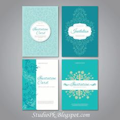 Wedding Invitations Card Design Psd