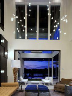 Modern Home Lighting Design Ideas, Pictures, Remodel, and Decor - page 2 Modern Lighting Design, Interior Lighting, Luxury Interior, Home Lighting, Interior Design, Lighting Ideas, Ceiling Lighting, Ceiling Fans, Room Interior