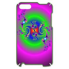 Bubble Glow Circle iPod Touch Case > Bubbly Glow Circle > Rosemariesw Digital Designs