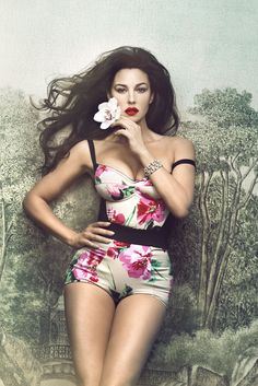Monica Bellucci in a photo shoot by Signe Vilstrup for the magazine Vanity Fair Italy May 2012