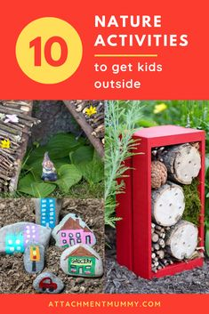 10 Easy and Fun Nature Activities to Get Kids Outdoors - 10 Easy and Fun Nature Activities to Get Kids Outdoors - Nature Activities, Craft Activities For Kids, Family Activities, Learning Activities, Crafts For Kids, Creative Activities, Outdoor Activities, Small World Play, Outdoor Learning