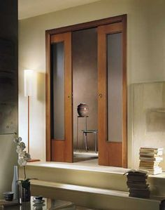 Double Sliding Door Pockets | The Disappearing Door Company
