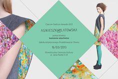 Agnieszka Ulatowska - fashion designer identity by Zofia Przybylska, via Behance