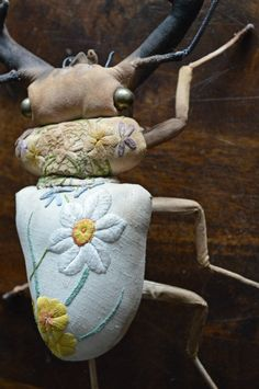 Winter stag beetle….Mister Finchhttp://www.mister-finch.com/