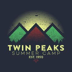 Check out this awesome 'Twin+Peaks+Summer+Camp' design on @TeePublic!