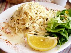 Spaghete integrale cu somon sălbatic