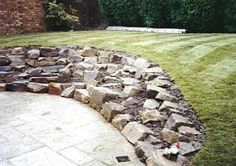 Rockery Ideas, Rockeries, Waterfalls and Ponds. All Gardens Great and Small Landscape Gardeners from Sussex Rockery Garden, Garden Soil, Lawn And Garden, Garden Plants, Garden Landscaping, Home And Garden, Planting Plan, Garden Images, Farm Yard