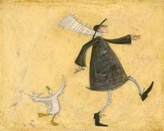 sam toft dancing with horace this is one of 3 sam toft prints i have in my kitchen love her work