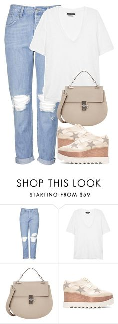 """""""Untitled #2715"""" by elenaday on Polyvore featuring Topshop, Isabel Marant, Chloé and STELLA McCARTNEY"""