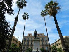 #Palermo, la statua di Ignazio Florio nell'omonima Piazza