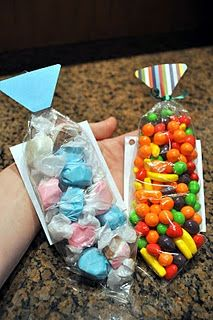 Make dad a tie filled with his favorite candies!