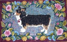 Dog Rug - Bella...by J. Conner