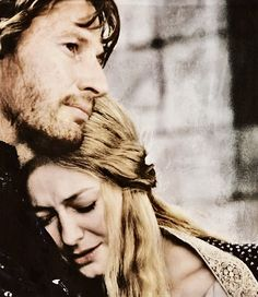 """Forget Aragorn and Arwen.  THIS is my favorite LOTR couple. """"Then I will say to you, Eowyn of Rohan, that you are beautiful."""""""