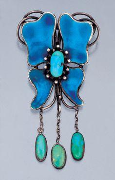 Arts & Crafts Brooch / CHARLES ROBERT ASHBEE / British, c.1900 antique artisan jewelry x