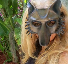 teonova leather masks on pinterest leather mask masks and goats
