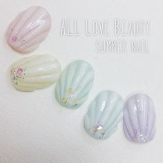 #pastelcolor #shell #summer