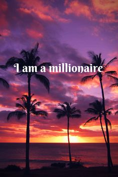 a millionaire.I am a millionaire.am a millionaire.I am a millionaire. Positive Affirmations Quotes, Wealth Affirmations, Morning Affirmations, Affirmation Quotes, Manifesting Money, Secret Law Of Attraction, To Infinity And Beyond, Monet, Images