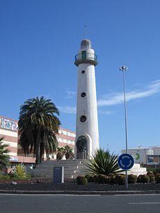 Las Palmas La Isleta - Faro en Puerto de la Luz