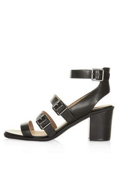 NOWHERE Black Strappy Heels - New In This Week - New In