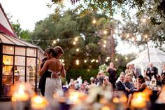 Another Orcutt Ranch wedding blog - OMG, I feel like this wedding is everything I want! Except for the cake.
