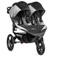 Summit X3 Double (black/gray) by Baby Jogger