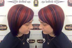 #red hair #red #longhair #hairgoals #getdolledup