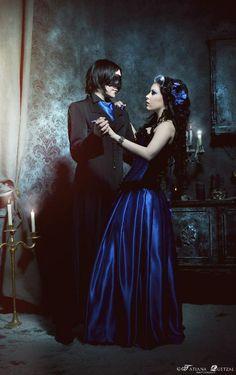 Goth couple :3
