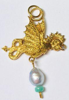 Malcolm Appleby 18k Gold Diamond Pearl and by BellmansOnlineStore, $1346.00