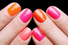 This is a natural shape.  I like these colors together, just in general.  Maybe an orange on feet and a pink on hands in the summer.