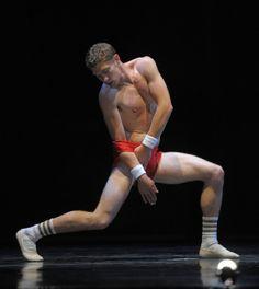 Travis Walker, Smuin Ballet (it's those gym socks