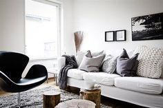 Diez propuestas para que te animes a elegir el color blanco para el sofá de tu living; mirá las fotos y compartí tu opinión