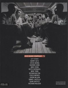 DVS Shoes - Team Van Ad (2000)