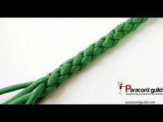Round sinnet- ABoK 3021- round braid tied another way - YouTube