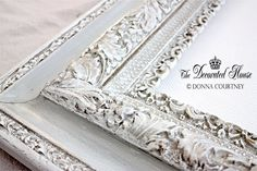 ~ How To Antique Glaze - A Perfectly Imperfect Frame with Annie Sloan Paris Grey Chalk Paint
